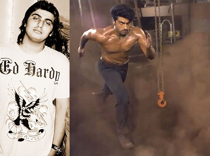 arjun kapoor then and now