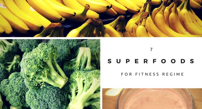 7 Superfoods for Your Fitness Regime