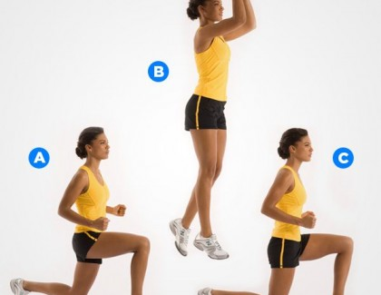 Split Lunge Jumps