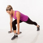 Lunge and Row (using Kettlebell)