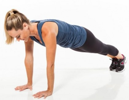How To Perform a Plank/Push Up