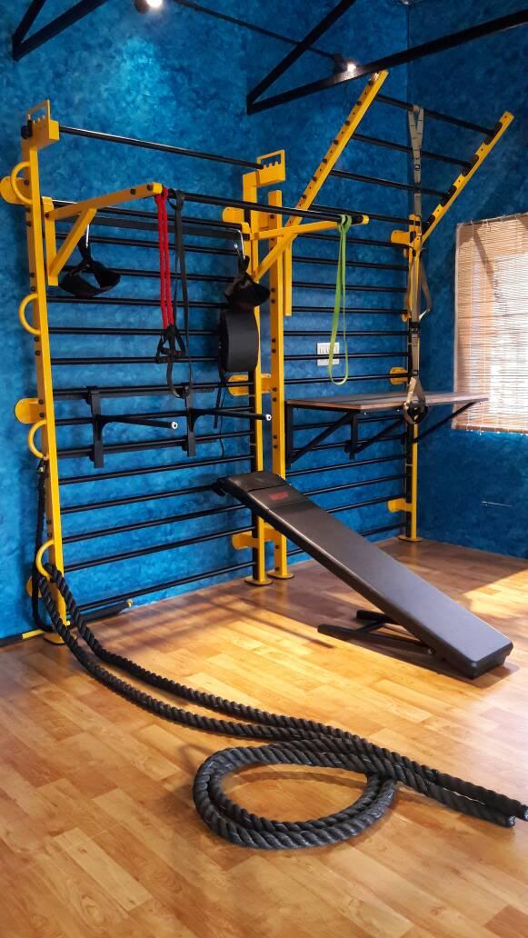 MSF Swedish Ladder wall mounted Gymchalo