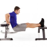 How to do triceps dips on bench
