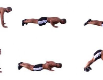 Dolphin push ups